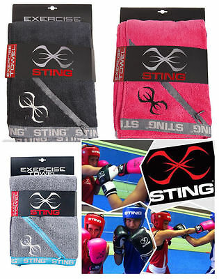 Sting Microfibre Exercise Towel Boxing MMA Muay Thai Equipment