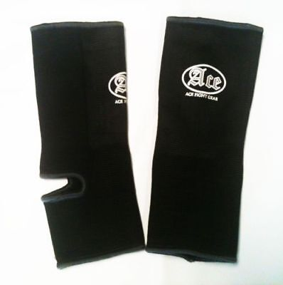 Muay Thai ACE Fight Gear OLD SKOOL Ankle Supports MMA Thai Boxing