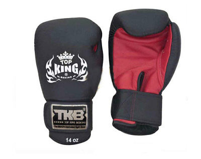 Top King ULTIMATE MUAY THAI Boxing Gloves LEATHER 8OZ 10OZ 12OZ 14OZ 16OZ 18OZ