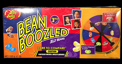 Jelly Belly Bean Boozled Spinner Wheel Game 4th Edition Bean Boozled Special