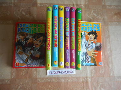 Eldoradodujeu > Manga Lot Collection - Drôle De Racailles 1-2-3-4-5-6-7-8