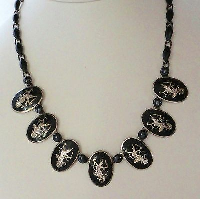Vintage Siam Sterling Neilloware Necklace