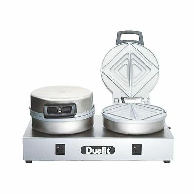 Dualit Contact Toaster 73002 Double Plate Sandwiches Toasties Appliance Kitchen