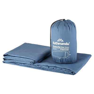 Kathmandu buzzGuard Insect Protection Sleeping Bag Liner Cotton Hostel Camp New