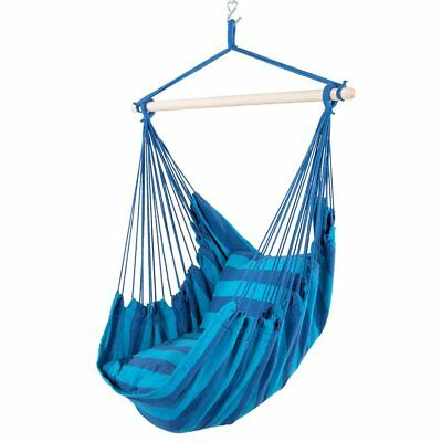 "New Deluxe 38"" Hammock Hanging Patio Tree Sky Swing Chair Outdoor Porch Lounge"