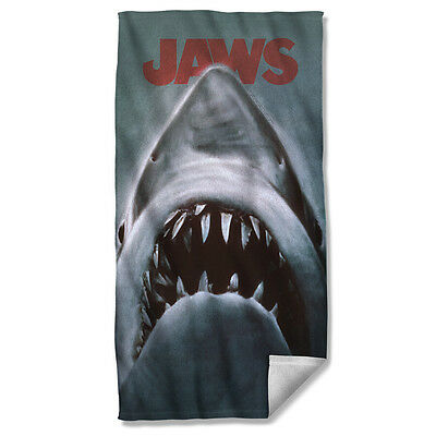 """JAWS - Attack! - Fleece Beach Towel - Print To Order - 36"""" X 58"""""""