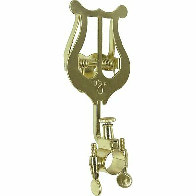 Bach 1815 (Gold) Lacquered Clamp On Trumpet Lyre