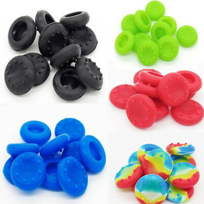 10x Controller Silikon Kappe Thumbstick Cap Für PlayStation 4 PS2 3 XBOX 360 One