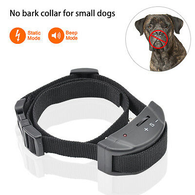 Petrainer Anti Bark No Barking Dog Shock Collar Automatic Electric Dog Collar