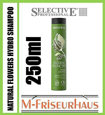 (€5,91/100ml) SELECTIVE Professional NATURAL FLOWERS Hydro BIO Shampoo 250ml