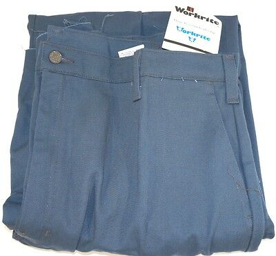 New Men's Workrite Charcoal Gray 42X Flame Resistant Work Pants
