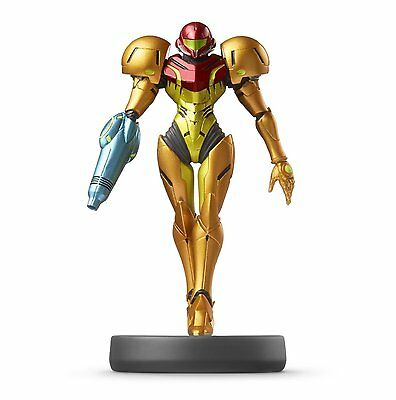 *NEW* Metroid Prime Samus Amiibo Mini Figure