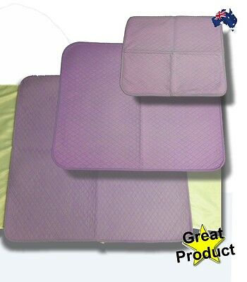 Bed Pad / Mattress Protector - 3 Sizes Available Incontinence Bed Wetting