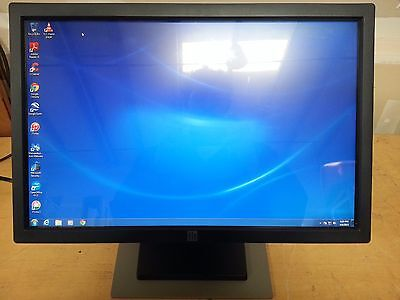 "Elo Touch 2200L 22"" Widescreen Touch Screen Monitor built-in Speakers for Repair"