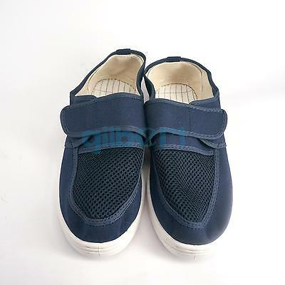 Blue Anti Static Shoes Antislip Outsole ESD Clean Shoes Work Shoes