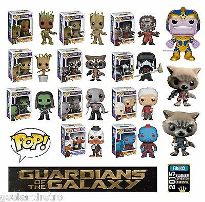 Guardians of the Galaxy Funko Pop! Vinyl Bobble Head Figures - Choose Your Own