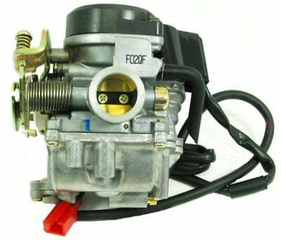 HIGH PERFORMANCE 24mm CARBURETOR For SCOOTERS WITH 80cc to 100cc MOTORS