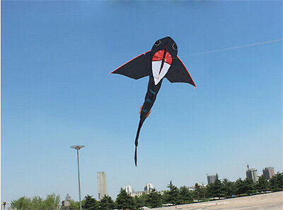 2016 Hot sale Shark Kite without handle Line high quality flying higher Big Kite