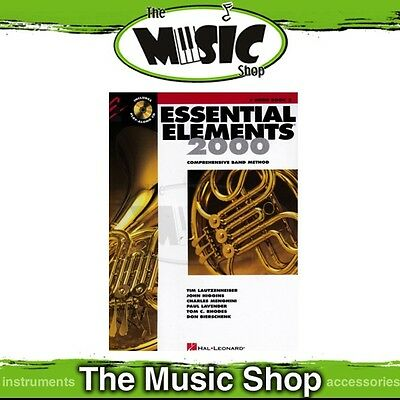 New Essential Elements 2000: French Horn Book 2 & CD - Comprehensive Band Method