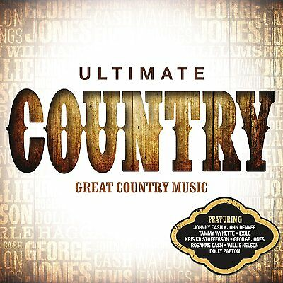VARIOUS ARTISTS - ULTIMATE COUNTRY: 4CD ALBUM BOX SET (May 4th 2015)