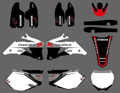 Graphics & Backgrounds Decals Fit For Yamaha Yz250F Yz450F Yzf 06 07 2008 09