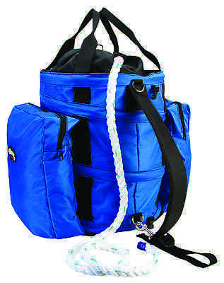 Weaver Leather Collapsible Arborist Bull Rope Deployment Bag - Blue