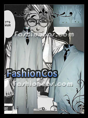 Halloween Hellsing Major OVA Max Montan Cosplay Costume Any Size Custom