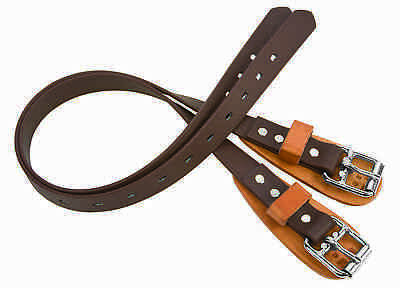 "(2) Weaver Leather 23"" 26"" or 28"" Heavy Duty Arborist Upper Climbing Straps"