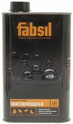 Grangers Fabsil UV 2.5 Litre Waterproofer All Fabric Types Tent Shoes Awnings