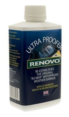 Renovo Canvas Soft Top Hood Ultra Proofer 500ml RUP5001117