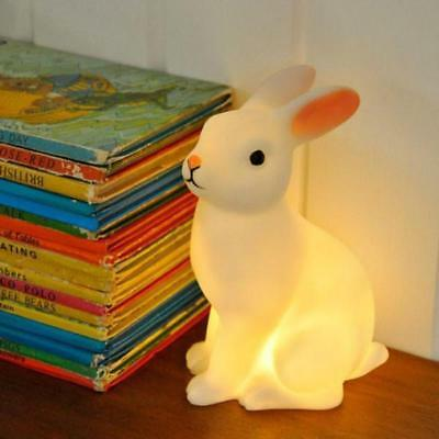 Rabbit Night Light - Colour Changing LED Lamp | children's bed rice kids bedside