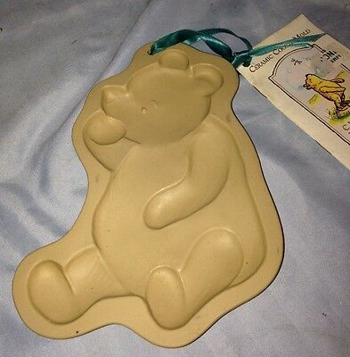 Brown Bag Cookie Art Mold Classic Disney Winnie the Pooh