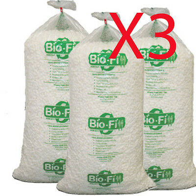 X3 400 Litre Void Bio Loose Fill Biofill Packing Peanuts Packaging Nuts Foam