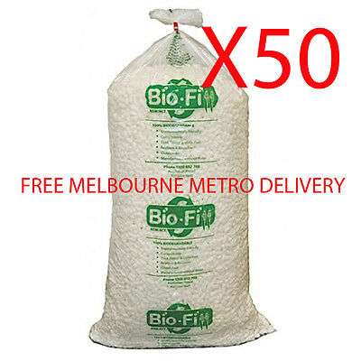 X50 400 Litre Void Bio Loose Fill Biofill Packing Peanuts Packaging Nuts Foam