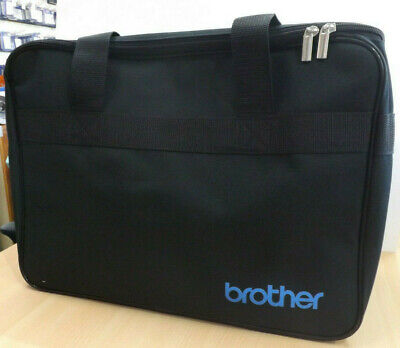 BROTHER Domestic Sewing Machine BLUE CARRY BAG CASE - Sent 1st Class Post