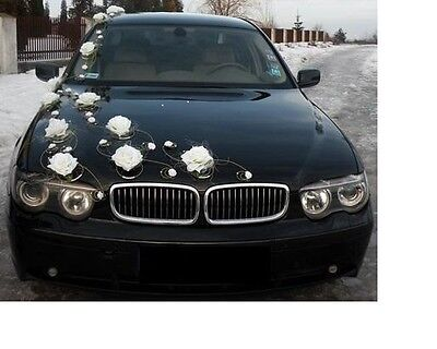 wedding car decoration, ribbon , bows, prom limousine decoration, venue XXL excl