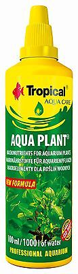 Aquarium Plant Liquid Fertiliser Complete Aquatic Plant Aquarium Fish Tank NEW
