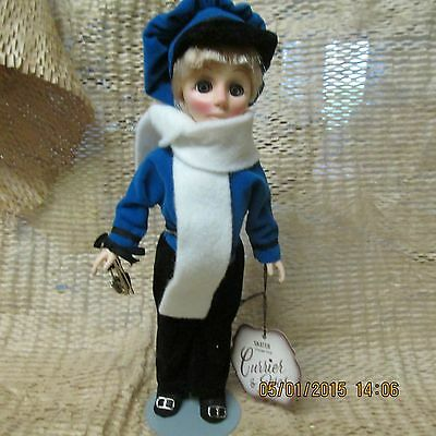 Currier & Ives Vintage Effanbee Blonde Blue Boy Skater 1251 With Tags