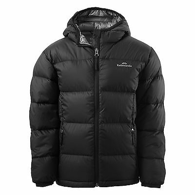 Kathmandu Kids Hooded Down Winter Warm Padded Puffer Quilted Coat Jacket v3 New
