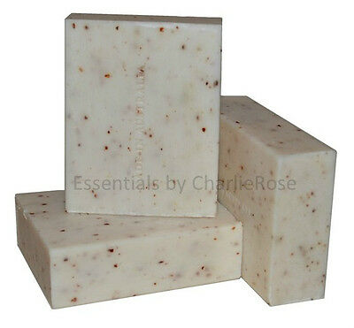4 x 110g Natural Goats Milk & Linseed Soap  - 100% Australian Made QUALITY