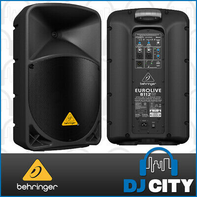 B112W Behringer Eurolive Active Speaker with Bluetooth Wireless 12 inch 1000w...