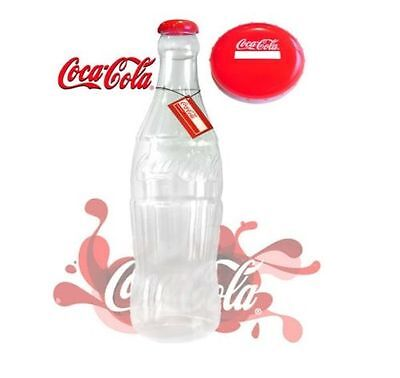 Plastic Coca Cola (Coke) Savings Money Box Bottle 60cm Novelty Money Box UK SELL