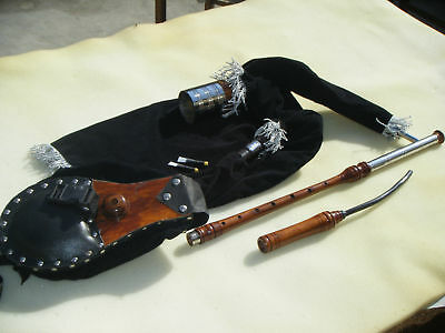 Irish Uilleann Pipes Practice Set + Uilleann Bagpipe Practice Chanter
