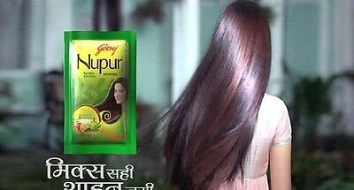 100% pure Nupur Herbal Henna for Hair Dye & Hair Care  - free delivery