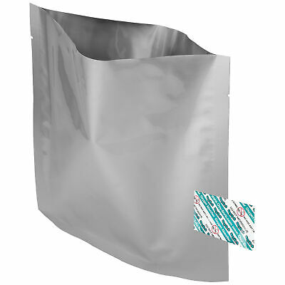 "40 Pack Of Mylar 8x8"" Bags & 40 Pack Of Oxygen Absorbers"