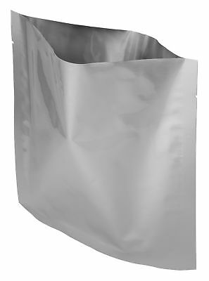 "50 Pack Of Mylar 8x8"" Quart Size Bags"