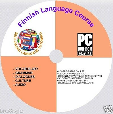LEARN Finnish LANGUAGE COURSE Finnish COURSE ON DVD