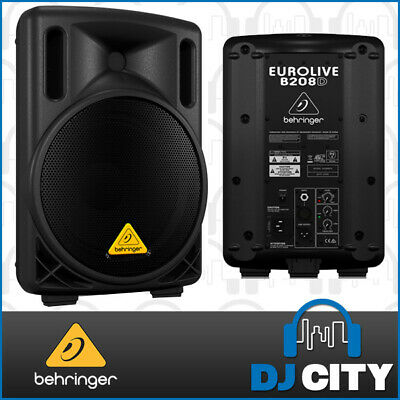B208D Behringer Active 8-Inch Speaker 200watt - Australian Warranty - DJ City...