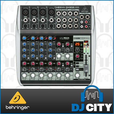 Behringer Xenyx QX1202USB 12 Channel PA Mixer with USB and Digital FX - 3 YEA...