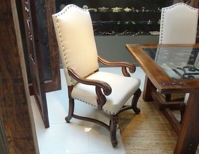 antique linen chairs CY3486b